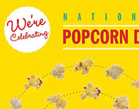 National Popcorn Day, Self-Mailer