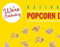 National Popcorn Day, Self-Mailer