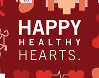 Happy Healthy Hearts, Self-Mailer