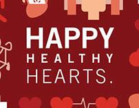 Happy Healthy Hearts, Self-Mailer