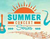 Summer Concert Series, Self-Mailer