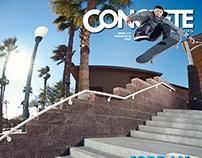 Concrete Skateboarding Magazine #117 / 2012