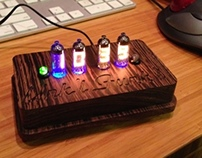 Nixie tube groomsman gifts