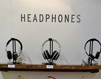 Brenthaven Headphone/speaker wall