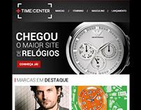 TimeCenter: Newsletter de Lançamento de E-commerce