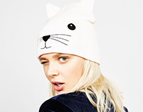 Cat bennie for Aw16 Bershka Collection
