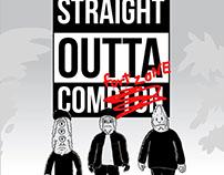 STRAIGHT OUTTA COMFORT ZONE