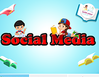 """Social Media Posts For """"TheReaderChild"""" Store"""