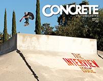Concrete Skateboarding Magazine #118 / 2012