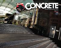 Concrete Skateboarding Magazine #119 / 2012
