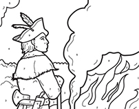 Historical Coloring Book Pages
