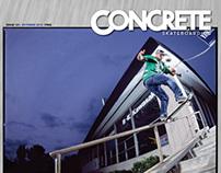 Concrete Skateboarding Magazine #121 / 2012