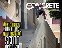 Concrete Skateboarding Magazine #122 / 2012