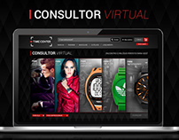 Aplicativo Web: TimeCenter - Consultor Virtual