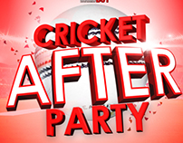 CRICKET AFTER PARTY