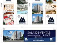 Graficas para inmobiliaria DELABASE