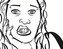 Type Face || Self Portrait