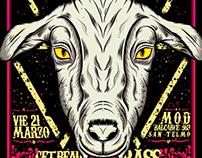 Disco Killer Feat. BNKRS - Party Flyer