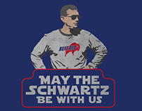May the Schwartz be with Us | Apparel Design