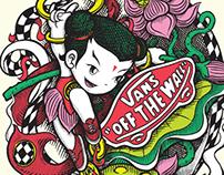 VANS [Asia Art TEES] x Panda Mei - Nezha