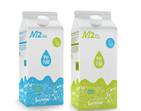M12-it has its own milk brand every month