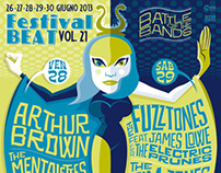 FESTIVAL BEAT POSTERS