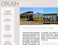 Franschoek Wine Tram | Crush! Issue 31