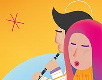 Musica sulle Apuane - Illustrazione