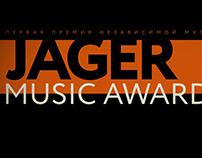Jager Music Awards logo animation