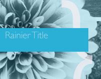 Rainier Title Rebranding