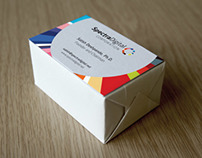 Spectra Logo and Business Card Design
