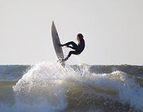 Freestyle surfers at the Praia do Labrego, 12 Nov 2013