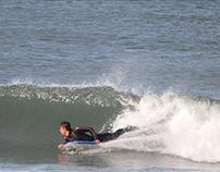 Freestyle surfers at Praia da Barra, 24 October 2013