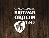 Browar Okocim website
