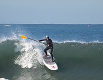 Freestyle surfers at Praia da Barra, 24 Nov 2014