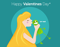Happy Valentine's Day.... or not  (GIF)