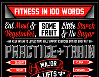 100 WORDS OF FITNESS - CROSSFIT