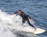 Freestyle surfers at Praia da Barra, 20 November 2014