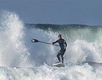 Freestyle surfers at Praia da Barra, 07 December 2013