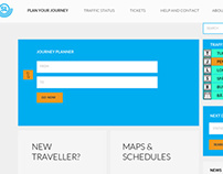 Redesign Stockholm's public transportation website SL