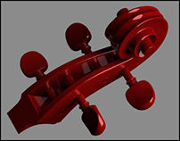 Cello - 3D CGI Modelmaking Stages