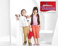 RELIANCE TRENDS CAMPAIGN SS-14 FITNESS/CHILDRENSWEAR