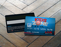 Kids Zone Logo and Marketing Materials