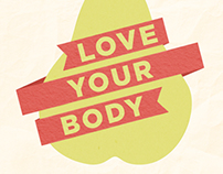 Love Your Body Campaign Posters
