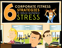 Corporate Fitness Strategies Infographic