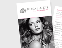 Rosalind's Design Work