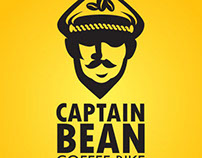 Captain Bean Coffee Bike