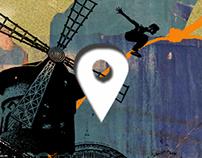 Mobile Game. Parkour Paris