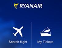 Ryanair App Redesign Concept