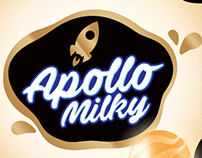 Apollo milky candy logo
